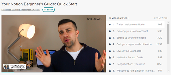 Notion Beginner's Guide: Quick Start